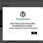 avoid making wordpress popup mistakes
