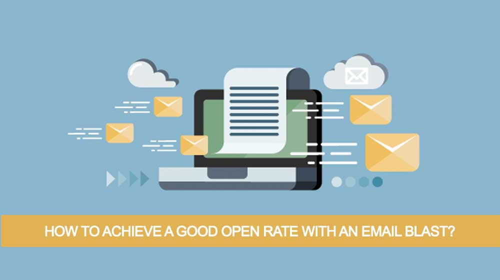 good email open rate