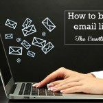 Email list building: 50 Ways on how to build an email list
