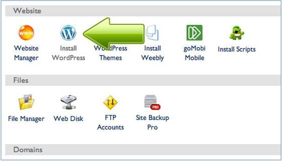 install wordpress site builder