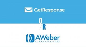 Should you go for Aweber or GetResponse?