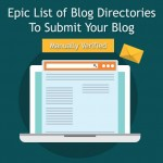 List of 90+ free blog directory submission sites to submit your website