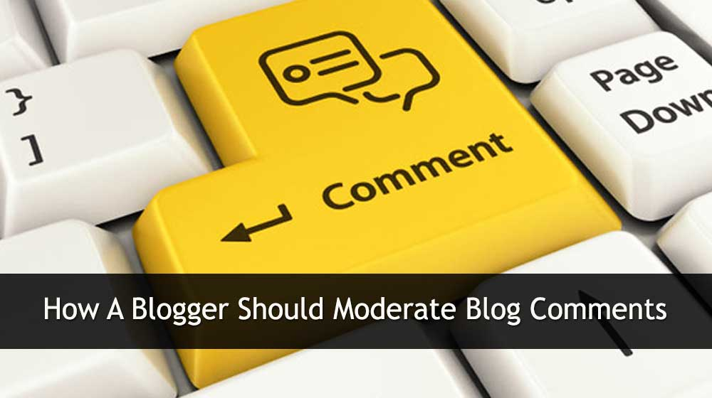 moderating comments