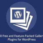 wordpress photo gallery plugin