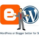 blogger wordpress seo