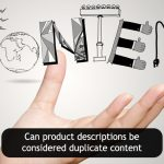 Can eCommerce product descriptions be considered duplicate content?