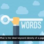 keyword density in SEO