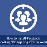 how to add facebook retargeting pixel wordpress