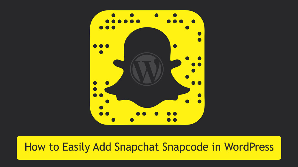 snapchat wordpress